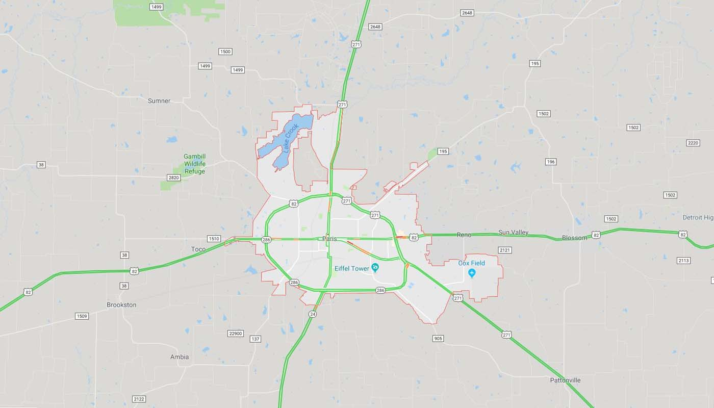 Lamar County - Texas Utility Consultants